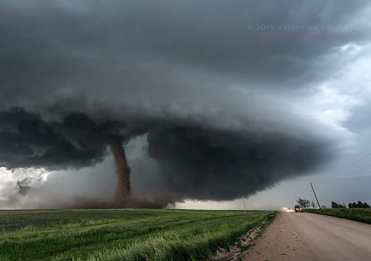 Simla, Colorado tornado. June 4th 2015.