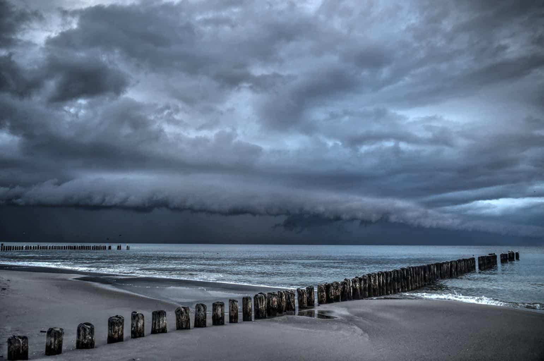 My last storm in season. Chałupy, Poland, 5h Sep 2015.