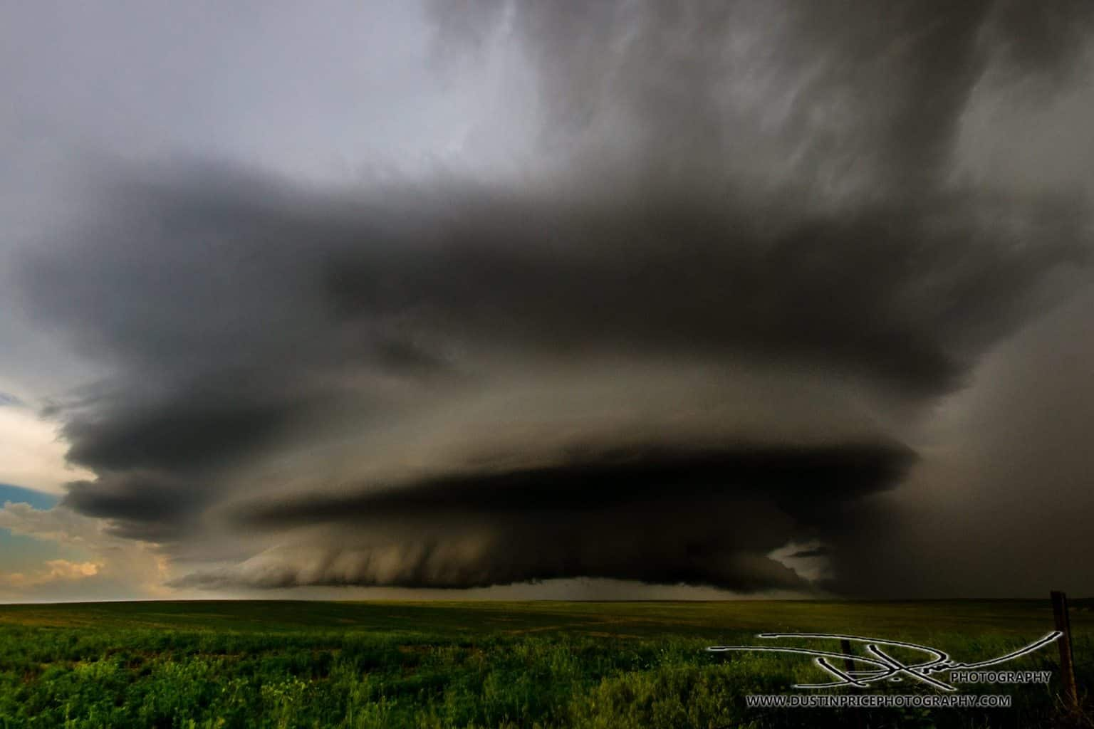 This tornado warned cell had started to break down near Hoyt, Colorado in early June of last year when we stopped to take in all the glory mother nature had to offer that day ....