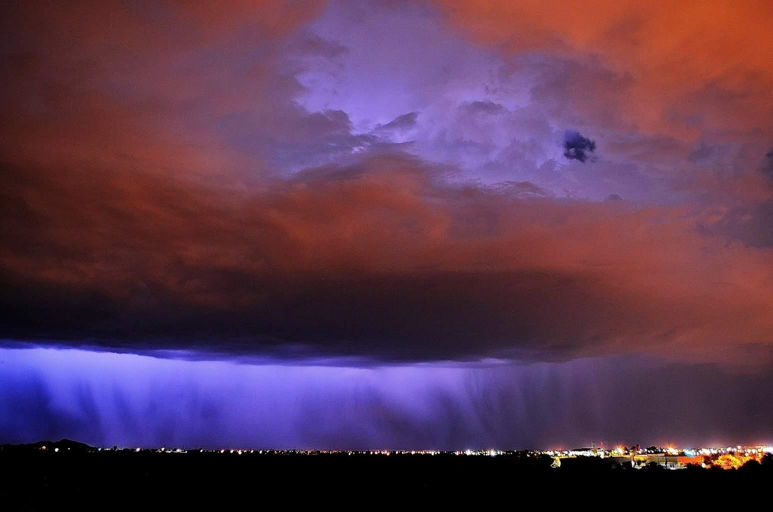Purple Rain Apache Junction , AZ . ~ 07/05/14
