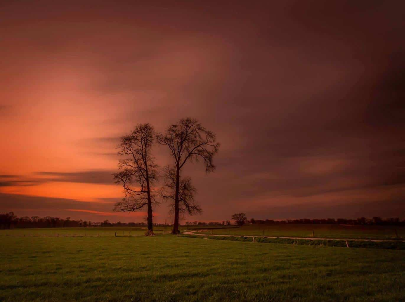 120 seconds of light. (Delden, Netherlands)