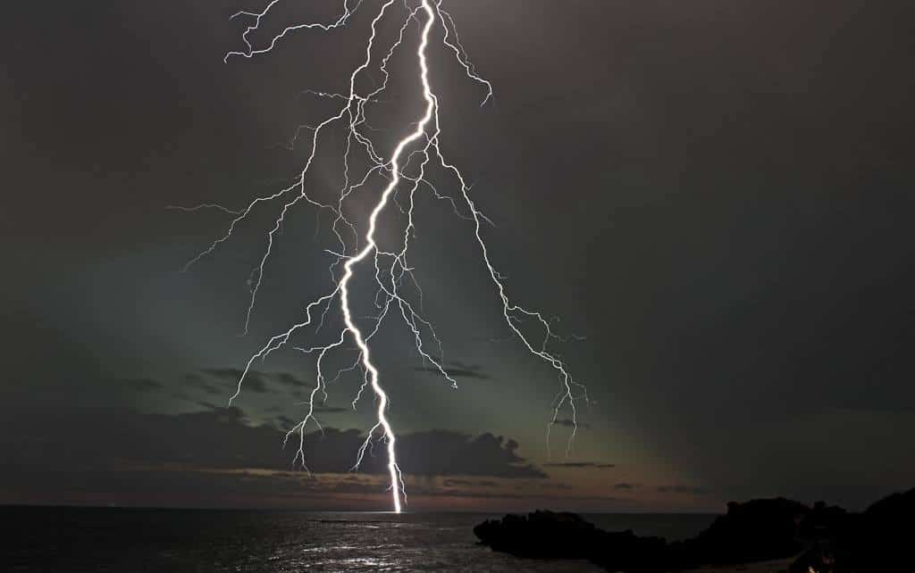One of the first coastal shows for Perth WA's storm season and boy it was a bloody good one