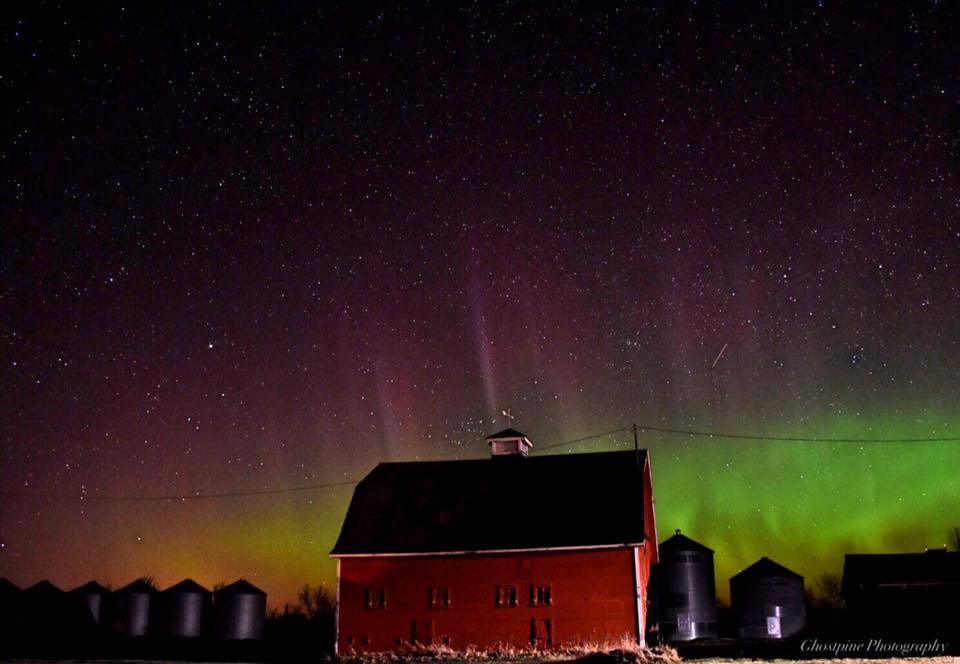Last nights surprise Aurora!  Orkney, Alberta Canada
