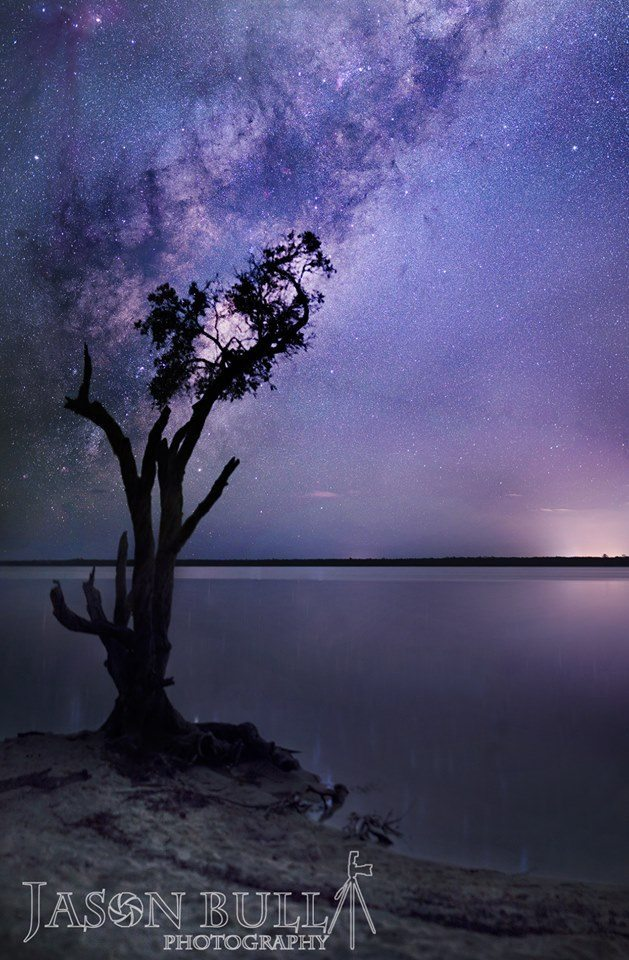 Havent posted in a while, but here is a 4 image vertical pano I took last night. Sunshine Coast Qld Australia.