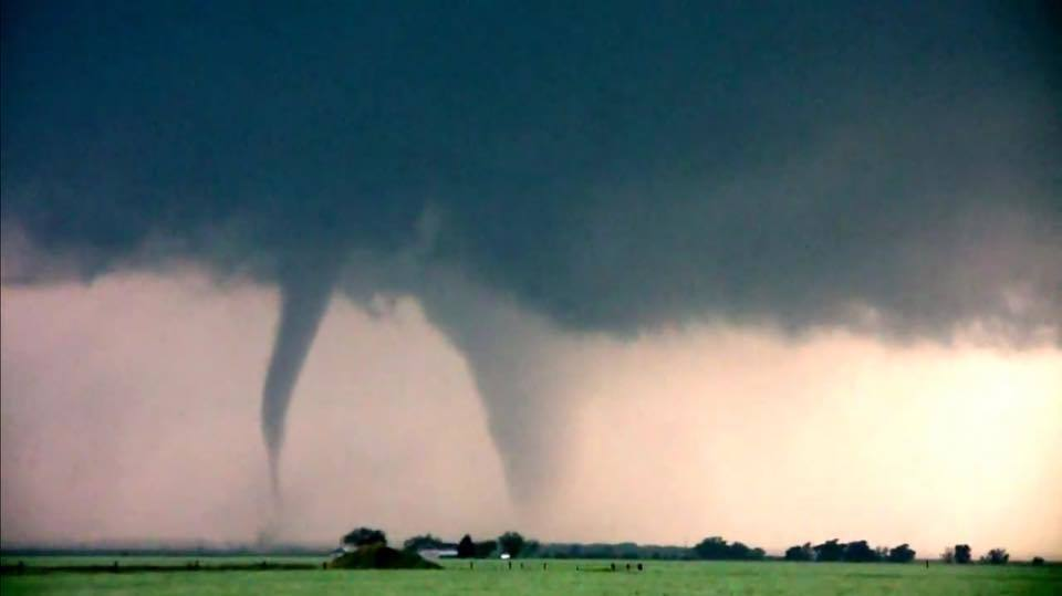 4 years ago today ! Sister Tornadoes in Cherokee, OK ... Awesome day it was!
