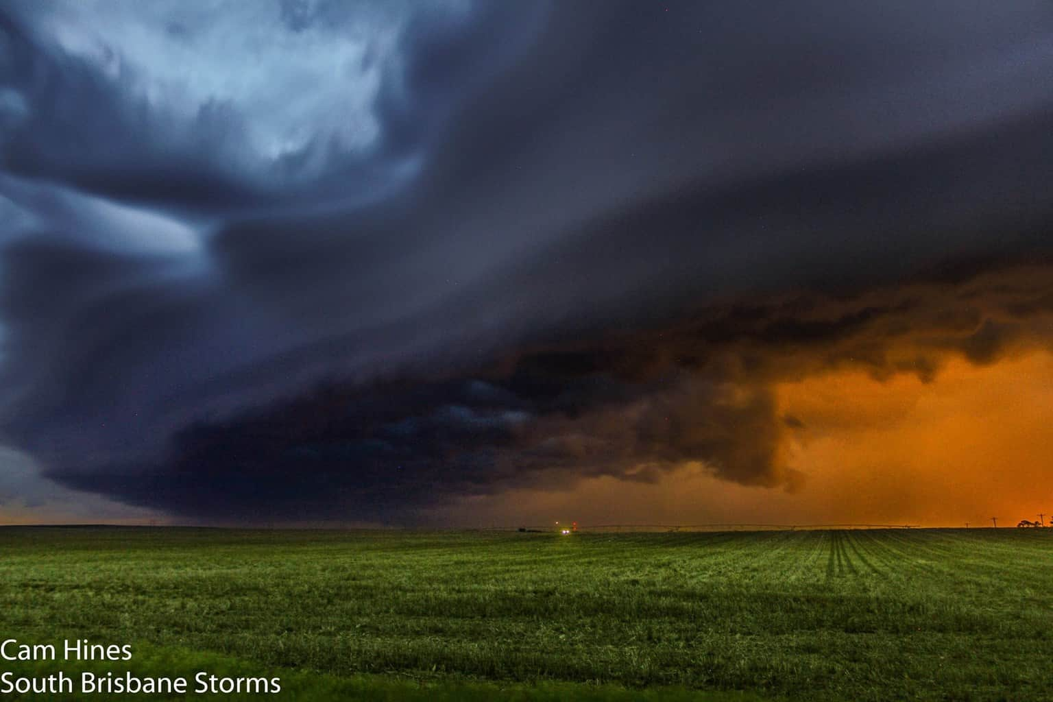 Late afternoon squall line on June 2nd last year in Valentine, Nebraska after a day in South Dakota turned out to be a frustrating failed day..