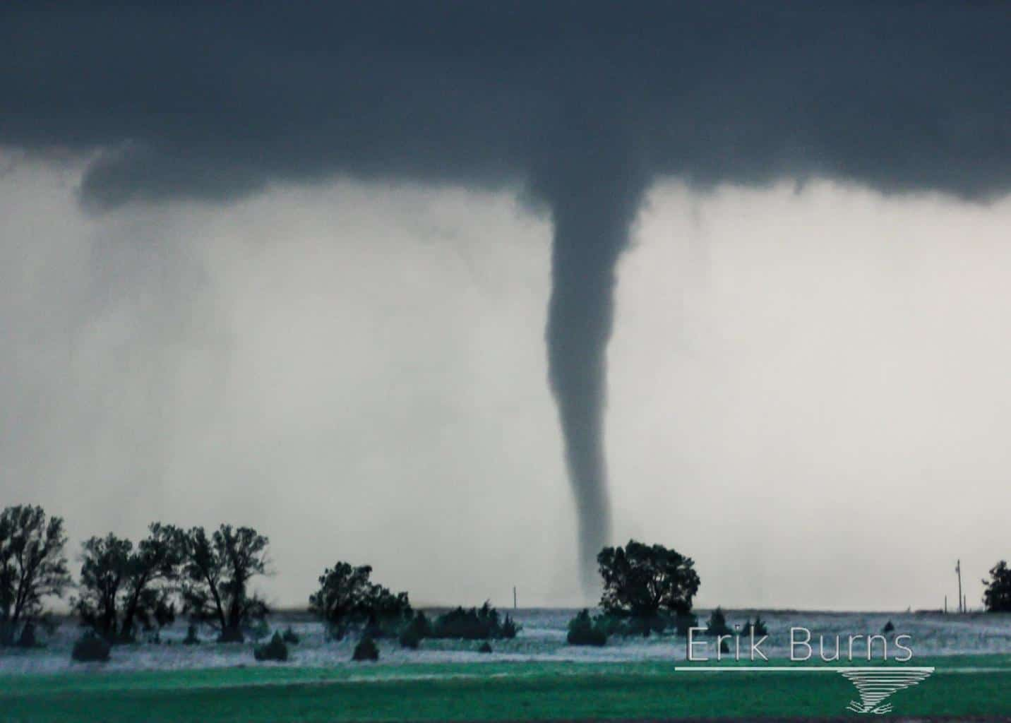 There are few sights more incredible or memorable than watching a slow moving tornado in open countryside. Where you can watch from a lawn chair if you like. April 14, 2012 Cherokee, OK.