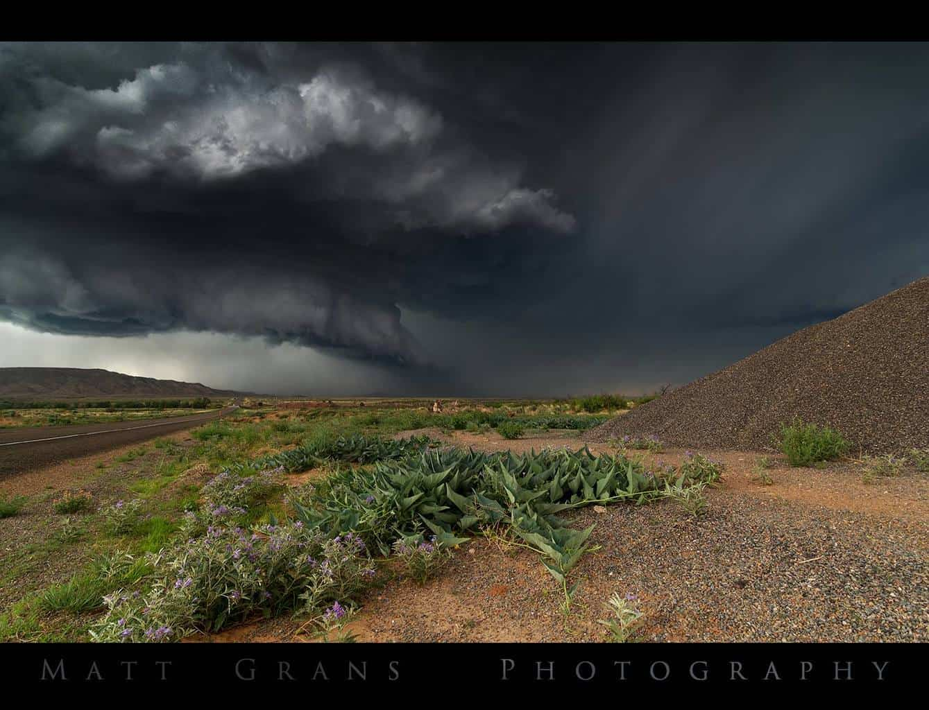 Storm over New Mexico Shot two years ago while driving for Weather Adventures. We watched this monster brew and churn for over an hour. An amazing storm!
