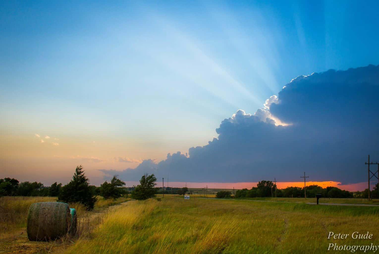 Sunset in Kansas!