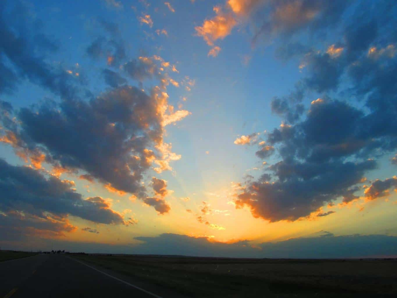 Kansas sunrise May 24, 2012