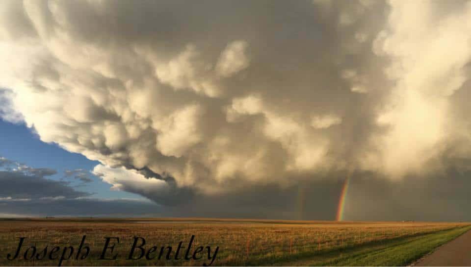 Picture I captured this evening just west of Amarillo, TX.