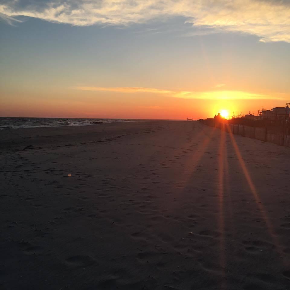 Beautiful Cape May sunset, unedited.