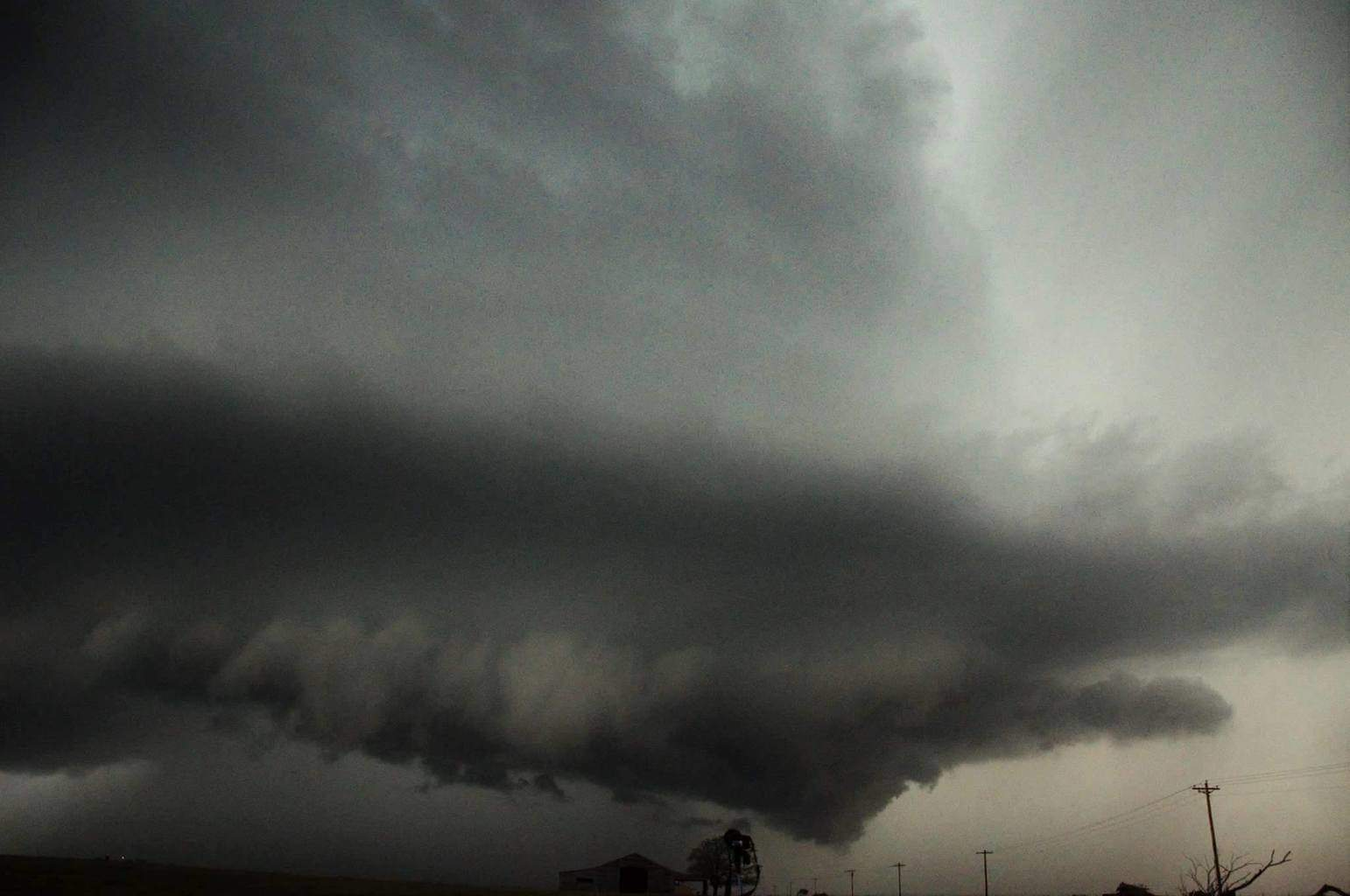 Mothership churns over sw oklahoma a couple weeks ago