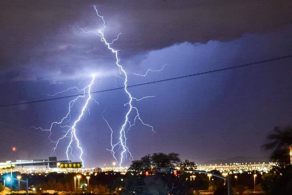Thunderstorm in Juarez last summer.