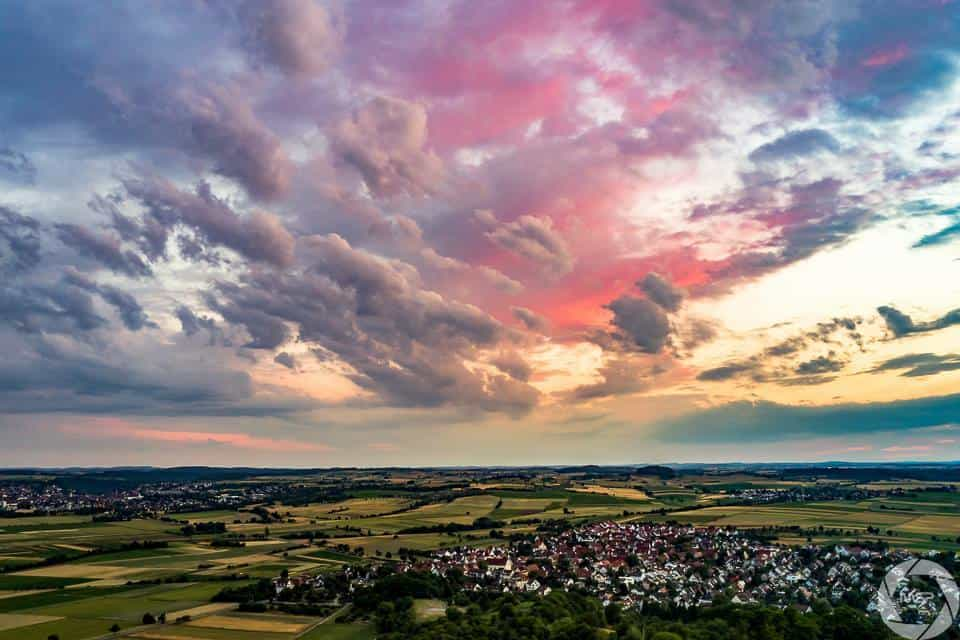 Candy Sunset - Summer 2015 near Tübingen, Germany