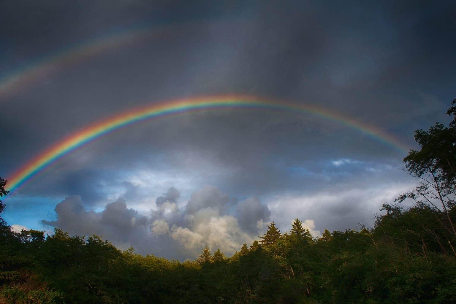 Coastal Rainbows -- Olympic National Park, WA.