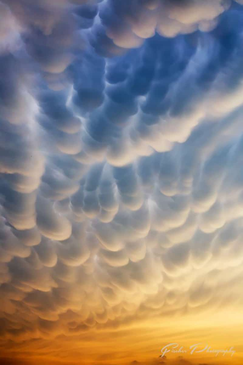 I have Christopher Agerlid to thank for getting me out the door in time to catch this shot of the Mammatus rolling through Allen, Texas north of DFW this evening.