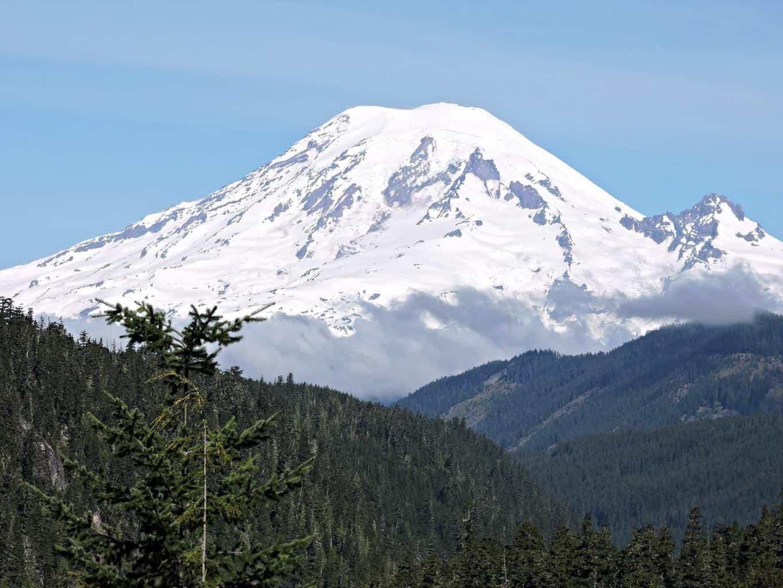 Mt. Rainier today (Washington State)....