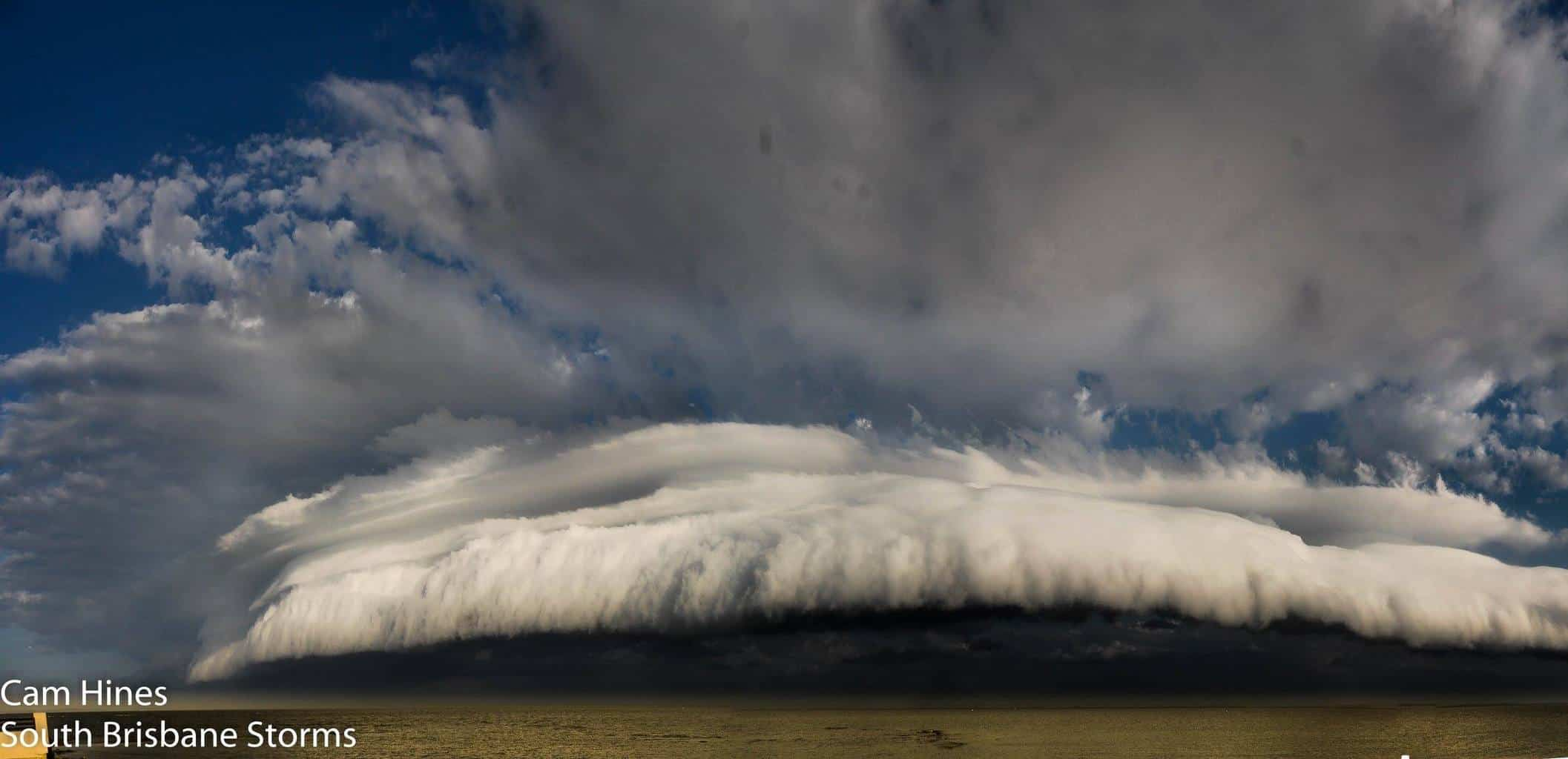 Bit of an oldie.. 3 years ago on March 7 2013 in Redcliffe, Australia. A roll cloud / gust front surging up the coastline marking the boundary of an incoming squally southerly wind change.