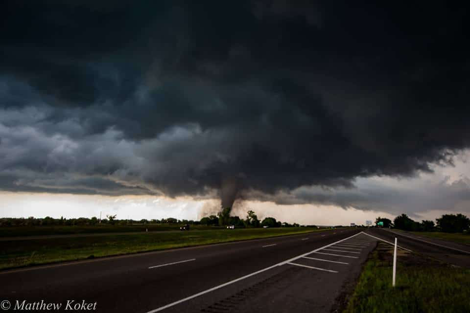 Wynnewood, Oklahoma tornado from yesterday!