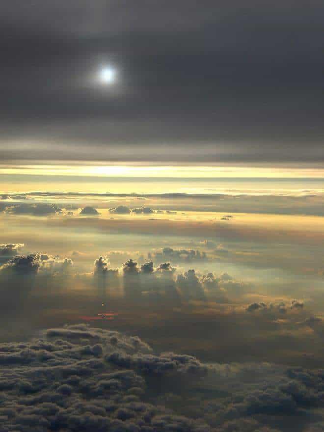 Sky over Japan,