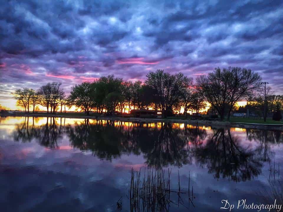 Tonight in Minnesota lake Mn