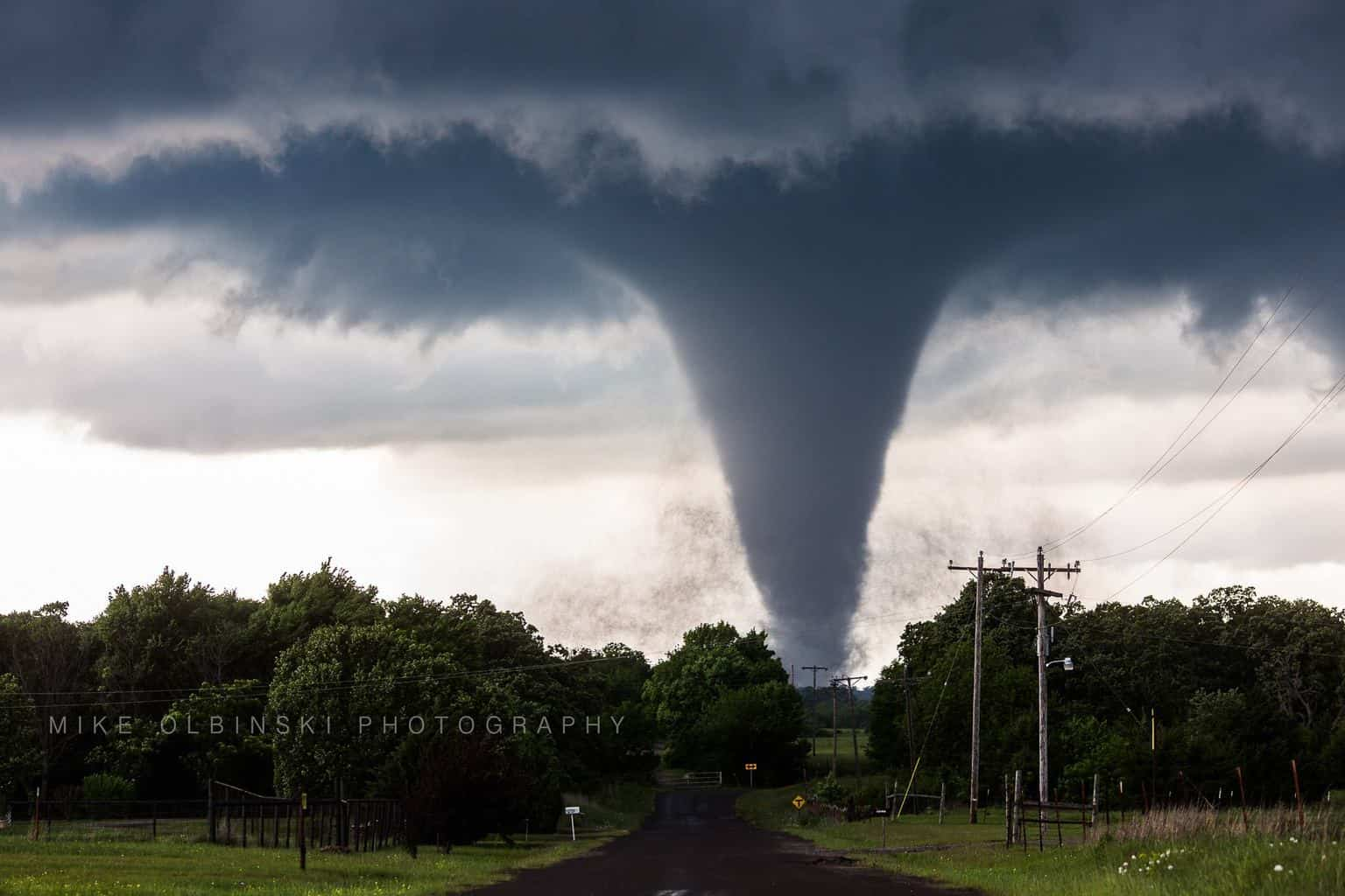 Yesterday southwest of Wynnewood, Oklahoma. Best tornado I've ever captured. What a day...bittersweet with the two people who died...they are so beautiful but incredibly deadly.