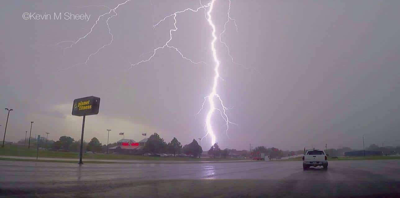 Lightning Strike-Champaign Illinois 05/11/2016