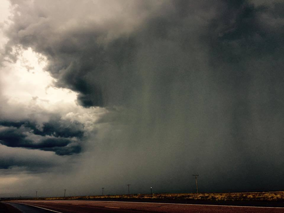 Taken west of Rapid City SD yesterday ... It was a great storm to chase