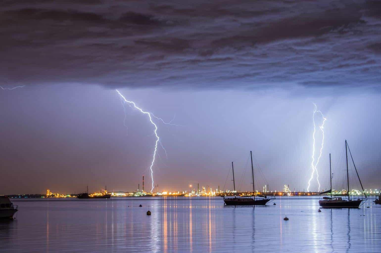 Storm over Rockingham Beach Western Australia taken couple of months ago using nikon d 3200
