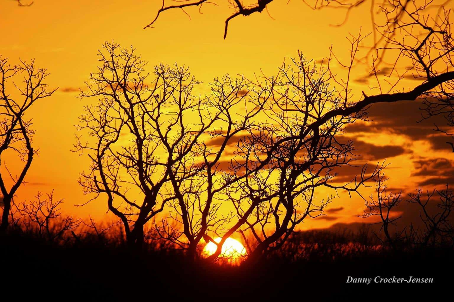 Sunset — at Mckay Park.