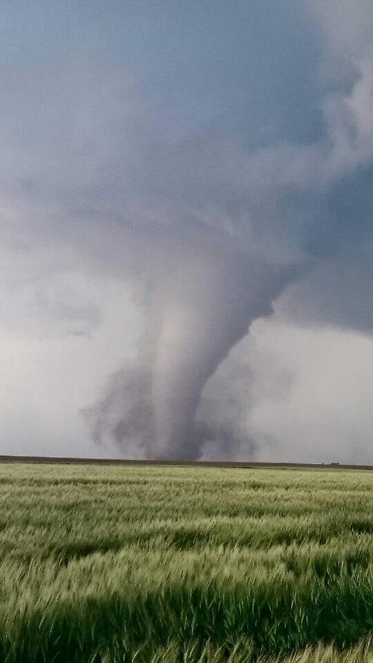 Dodge city tornado. Kansas