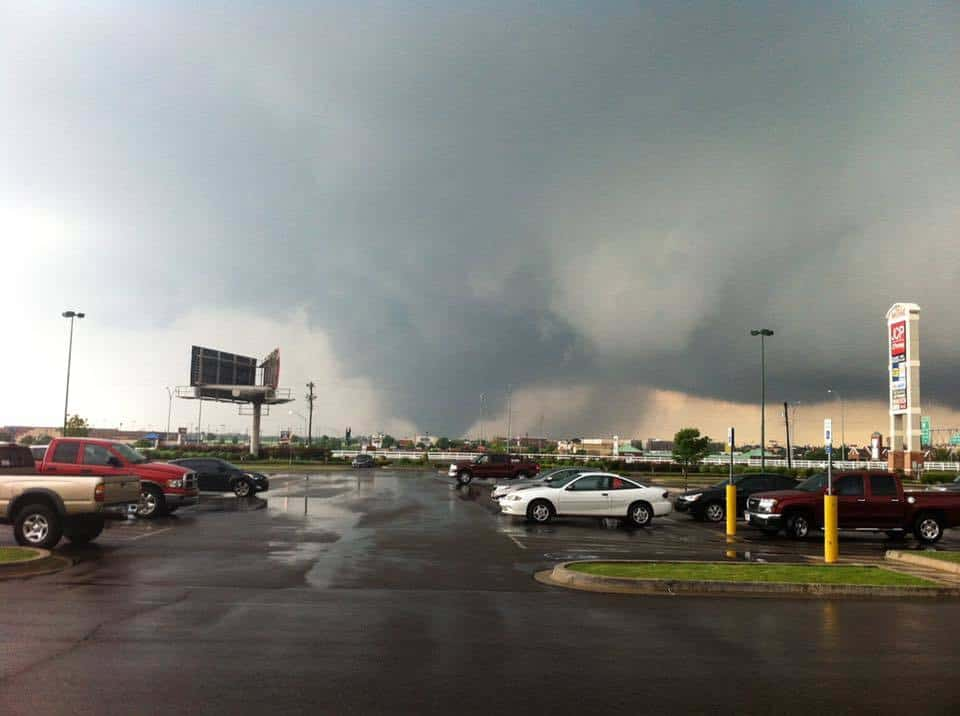 Three years ago today, my co-workers and I watched this EF 5 tornado rip through the city of Moore, OK. I remember looking at my location on radar scope thinking that we were toast. The sound of the debris hitting the building is something I will never forget. A few of my friends lost their homes, but we all made it through ok.