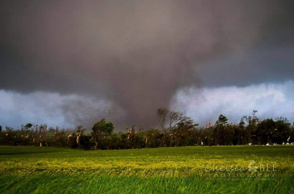 5/25/16 Chapman, KS tornado The smell after this tornado passed was unreal. Everyone thinks of the visual aftermath but never would I have thought of the smell.