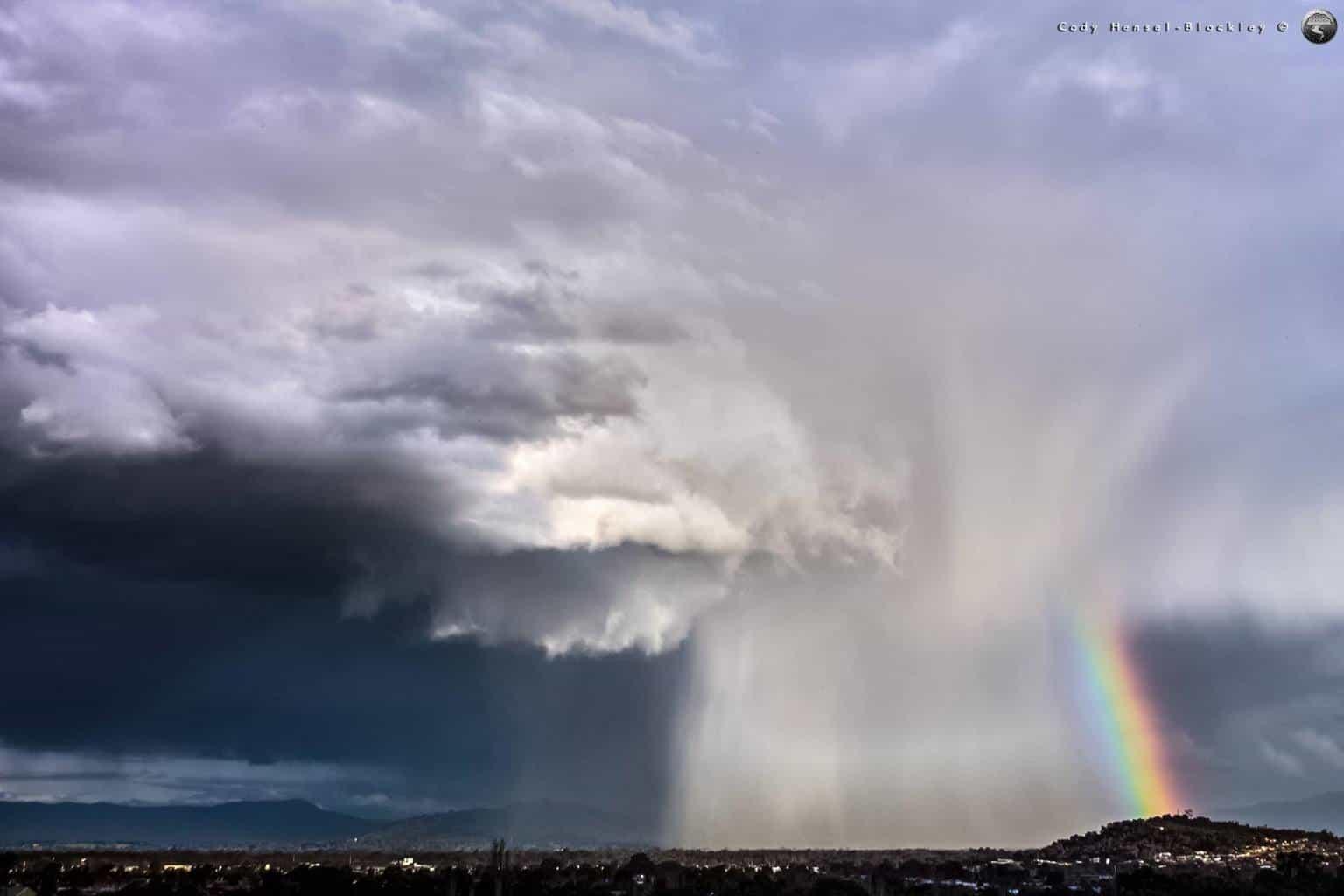Hailer storm back in 2014, Albury, Australia.