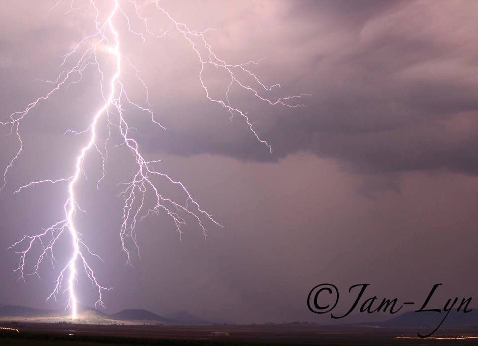 My best lightening photo so far...... Scared the crap out of me ? Nobby Queensland Australia