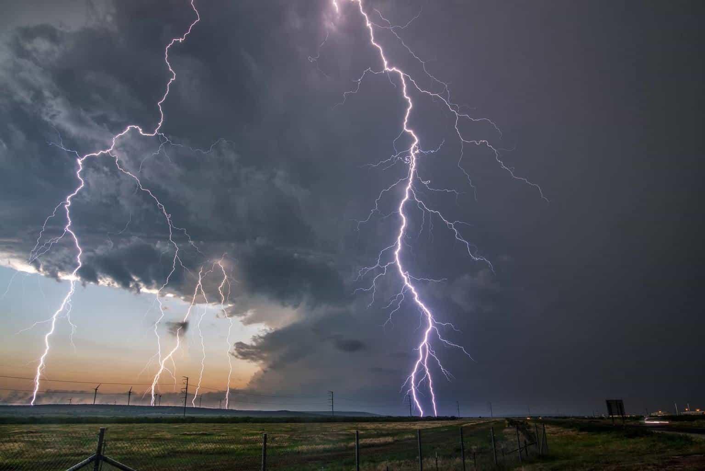 Lightning stack up near Big Spring, Tx.... I have never captured daytime lightning like this it was crazy. No trigger