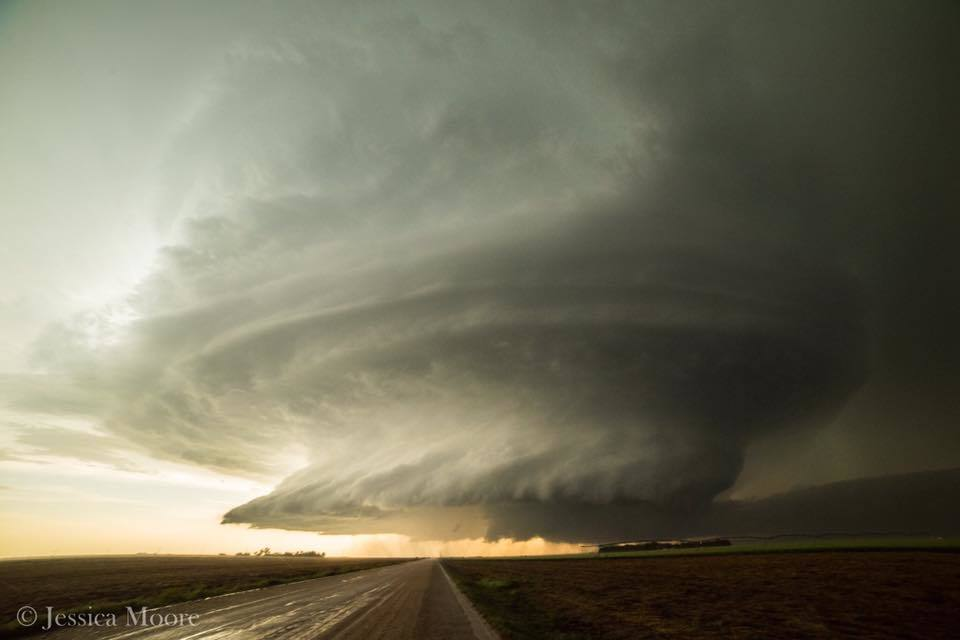 The most phenomenal supercell structure I've ever seen, near Leoti, KS.. I still can't stop obsessing over it. I need more.