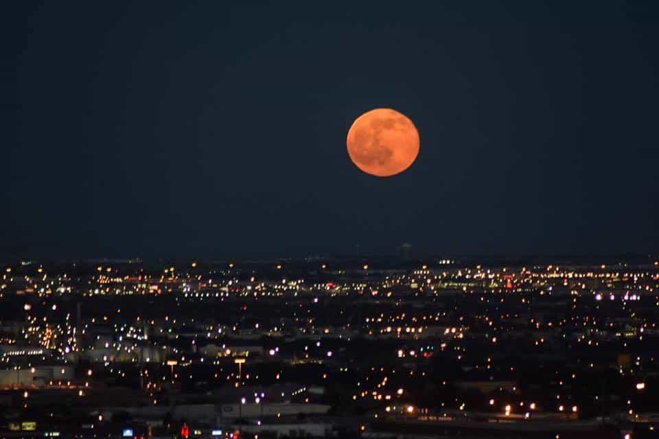 Tonight's Strawberry Moon. — at Scenic Drive.