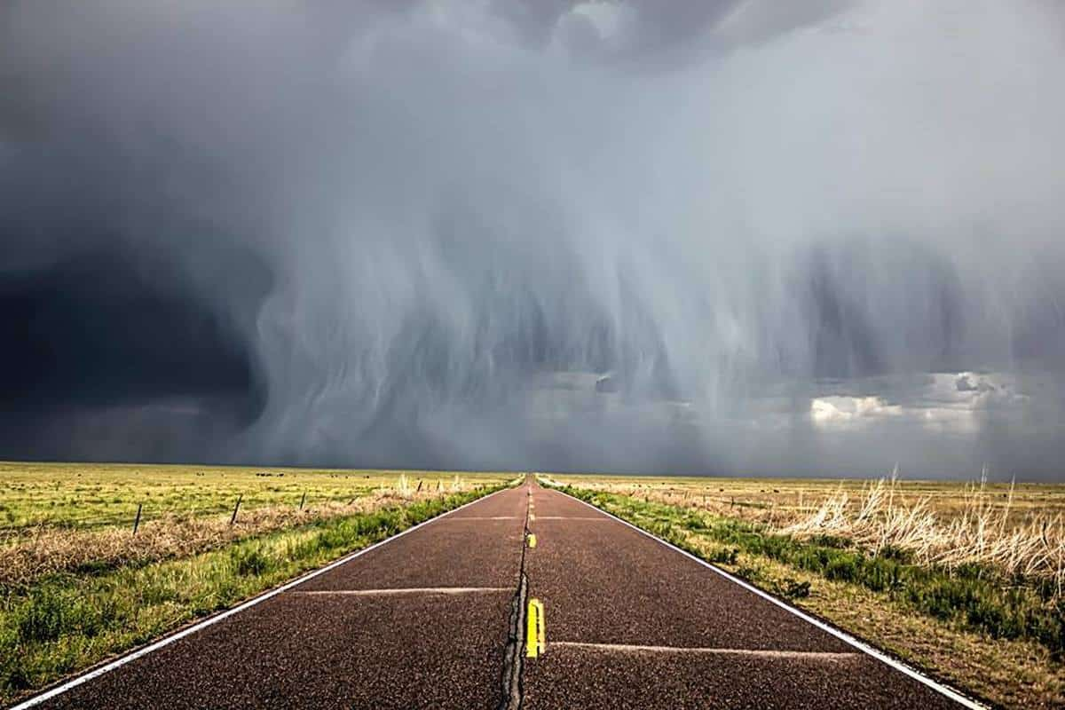 Thunder road? This is from the hail storm east of Fountain Colorado yesterday. 06/25/2016