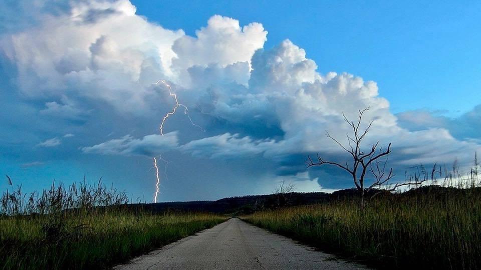 Afternoon storm, Victoria River NT Australia