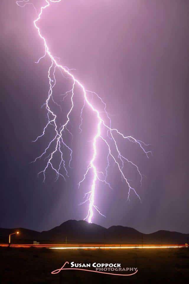 Taken last summer during the monsoon season in Arizona. One 30 second exposure.