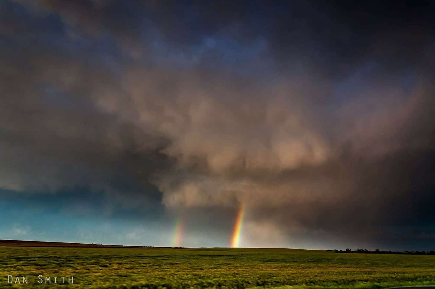 On the way home from the Dodge city tornado madness of 5/24/16.