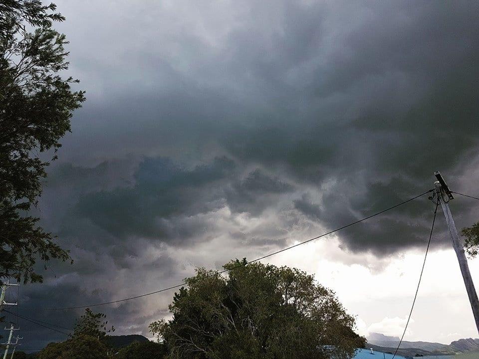 Storm yesterday