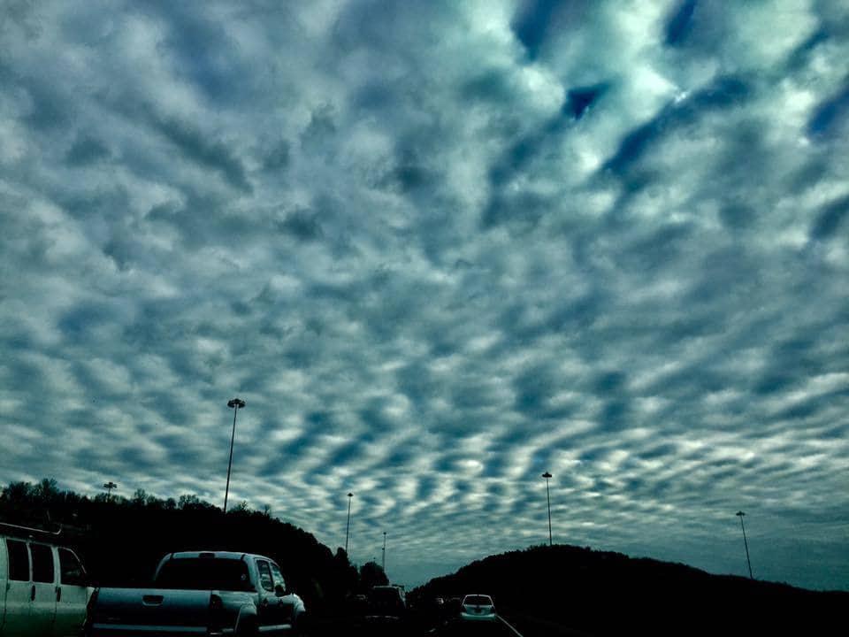 Sky was amazing this evening in Birmingham, AL