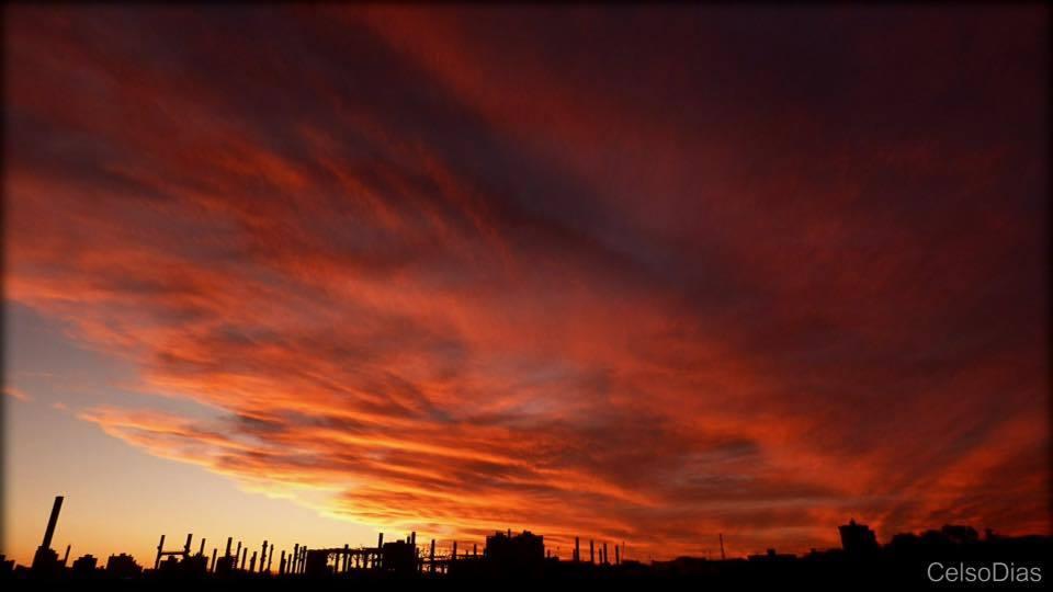 Fire in the sky! Cascavel/PR