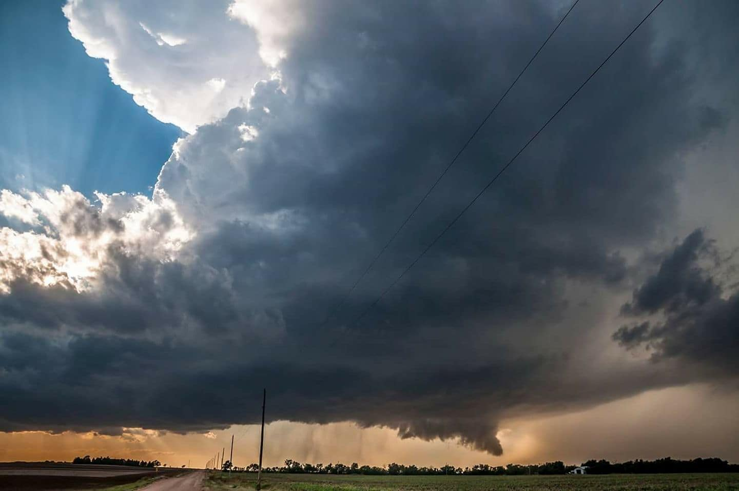 Just need another isolated dry line supercell in my life