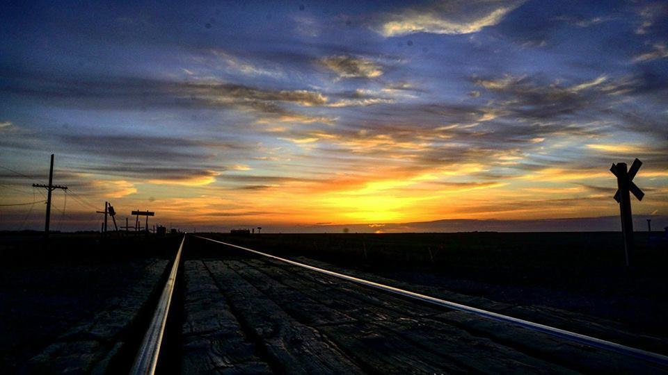 Saskatchewan sunset. Taken April 12th 2017 — in Grand Coulee, Saskatchewan.