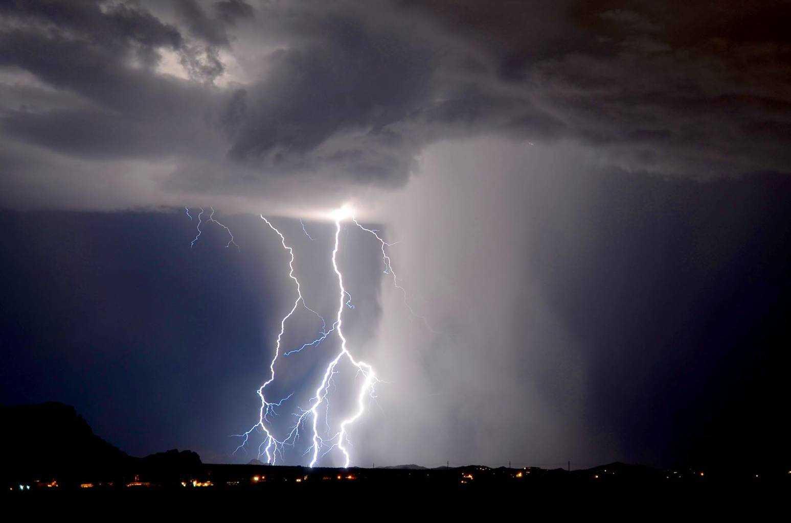 Lightning shooters point, Apache Junction AZ.