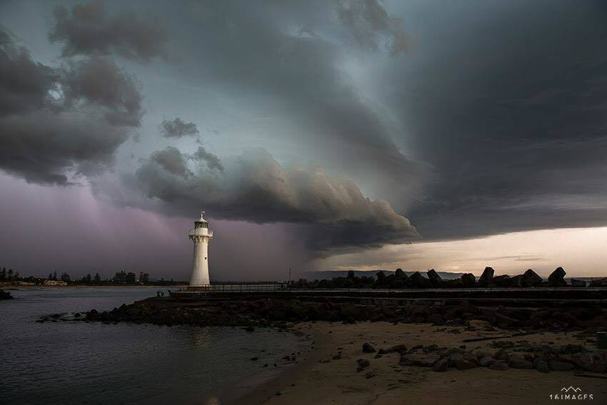 Wollongong's purple rain from a couple of days ago#3